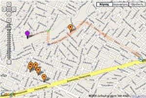 χάρτης google map για θ�ατρος Ρεματιάς